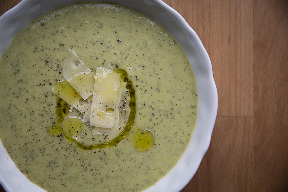 Soupe Courgettes Vache qui rit blog