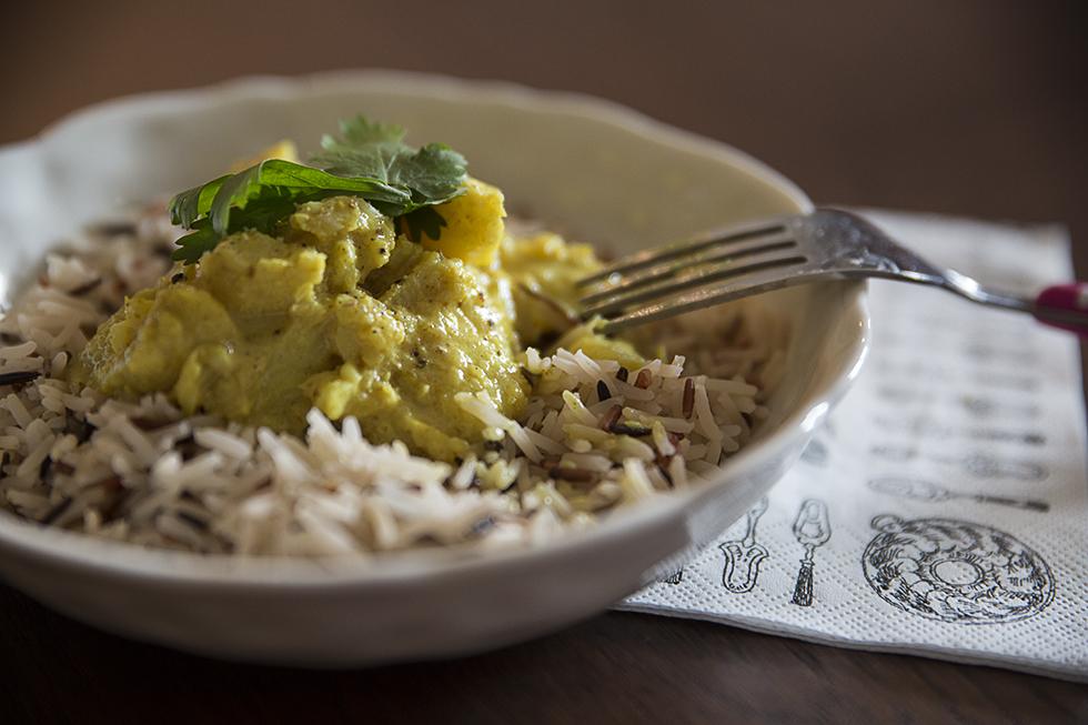 Curry de cabillaud Les Bichettes
